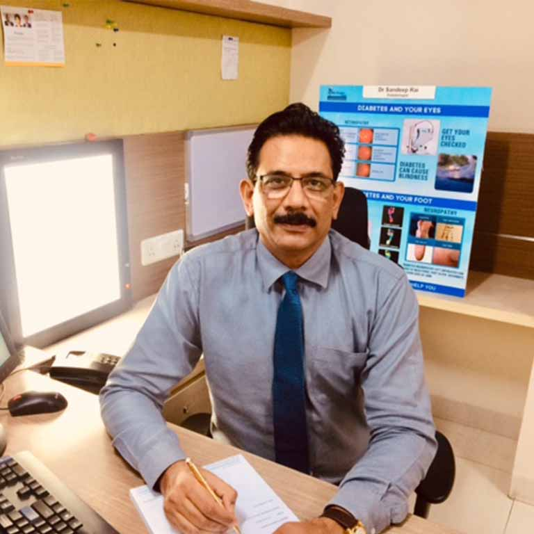 dr sandeep rai diabetes doctor in kharghar